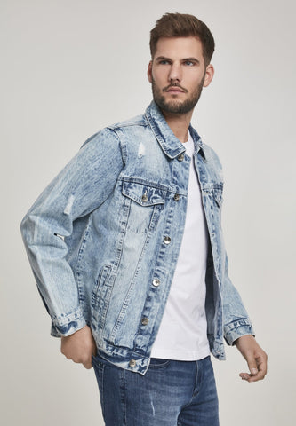 Southpole Basic Trucker Denim Jacket Jacket Southpole