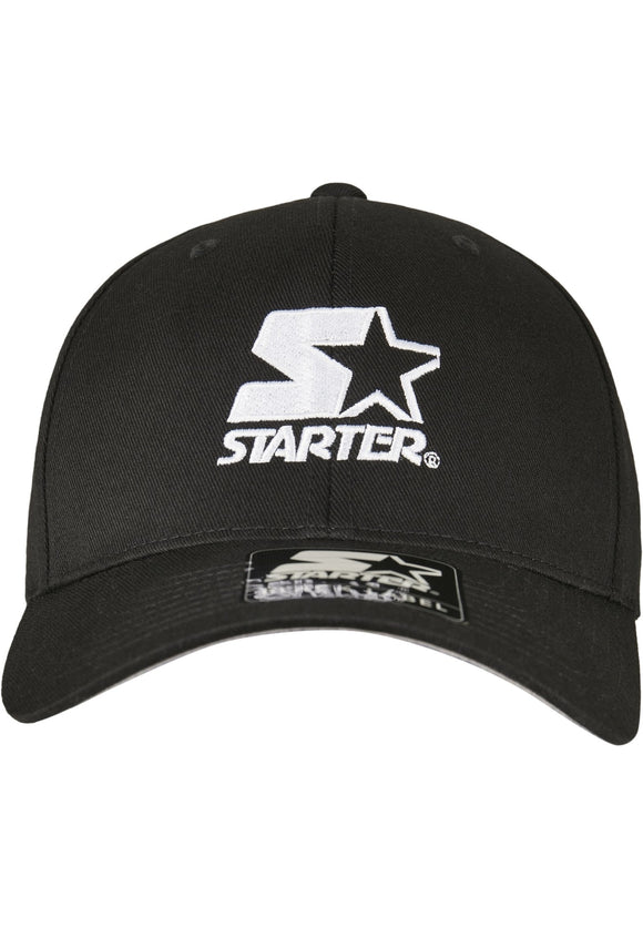 Starter Logo Flexfit Cap Black / S/m Accessories Starter