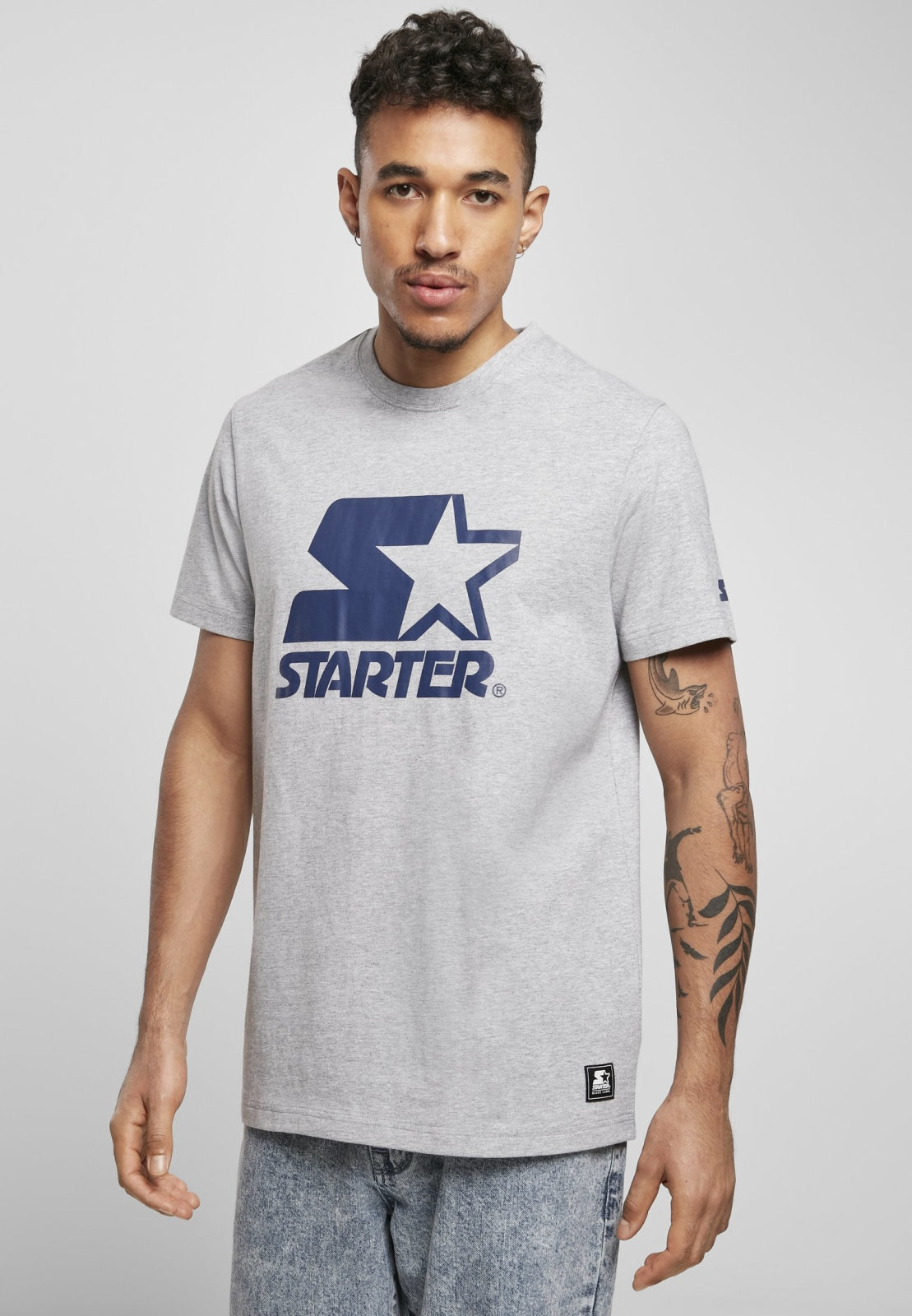 Starter Logo Tee Heather Grey / s T-shirt Starter