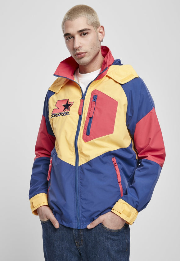 Starter Multicolored Logo 80S Retro Vintage Jacket Red/blue/yellow / S Jacket Starter