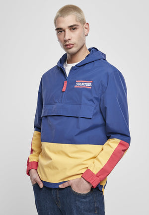 Starter Multicolored Logo Retro 80S Style Windbreaker Red/blue/yellow / S Jacket Starter