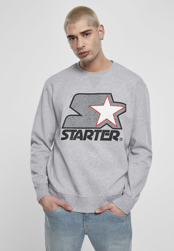 Starter Multicolored Logo Sweatshirt Heather Grey / S Sweatshirt Starter