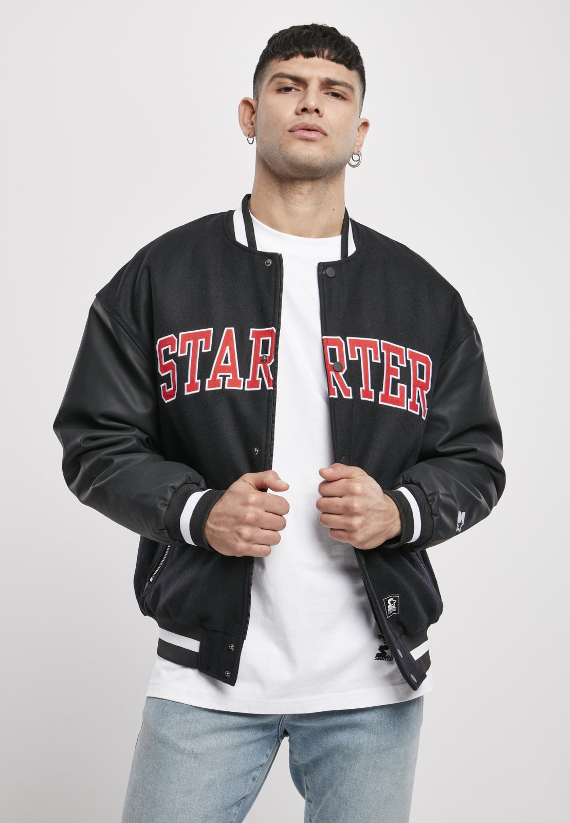 Starter Team Authentic Oldschool College Jacket (3 Colors!) Black / s Jacket Starter