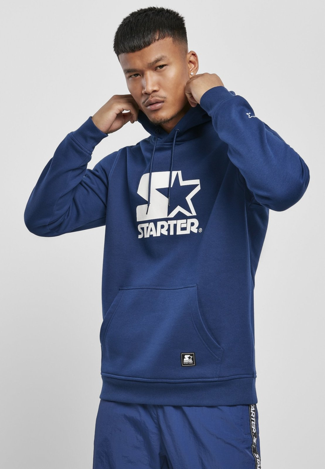 Starter the Classic Logo Hoodie (4 Colors) Blue Night / s Sweatshirt Starter