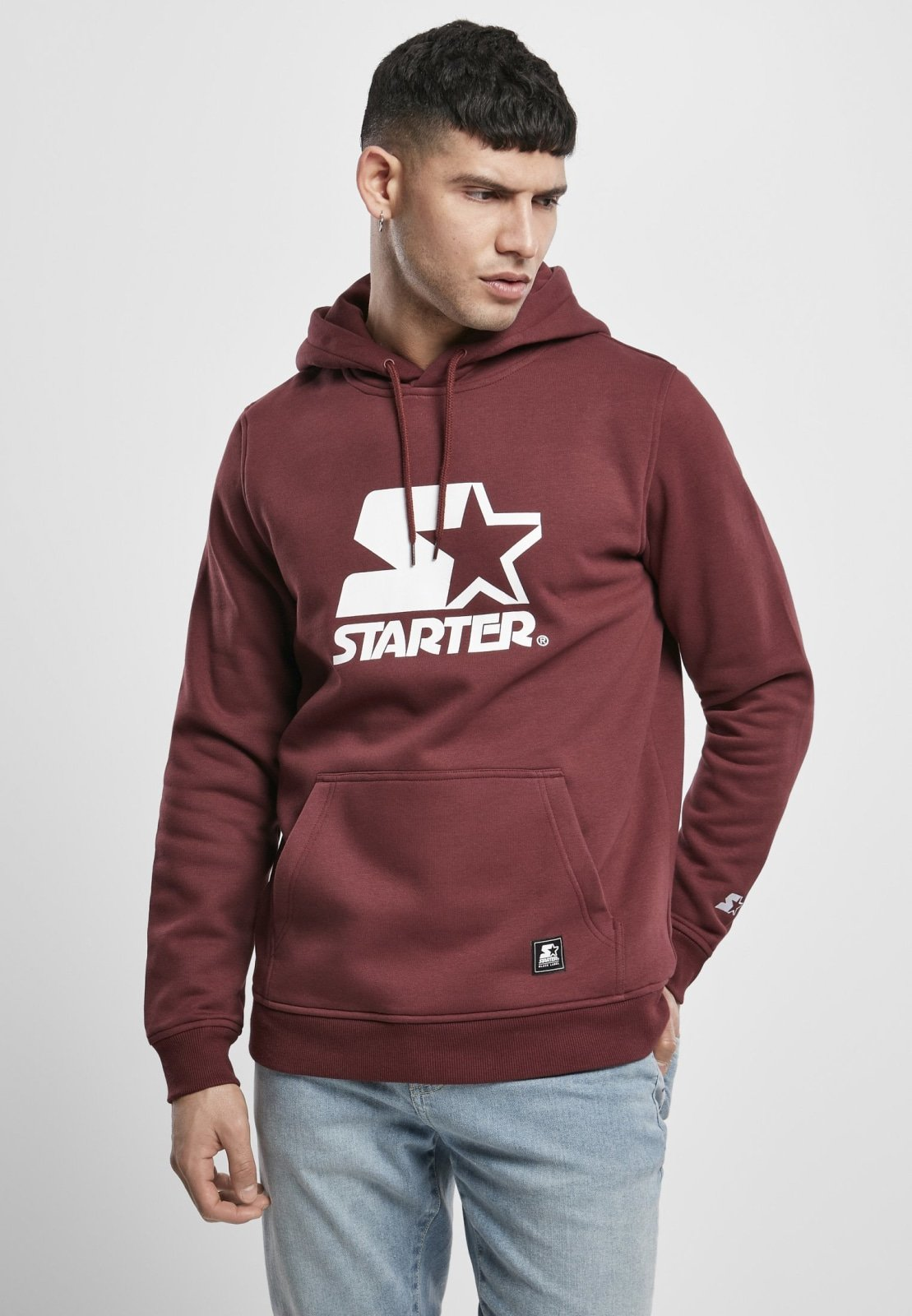 Starter the Classic Logo Hoodie (4 Colors) Oxblood / s Sweatshirt Starter