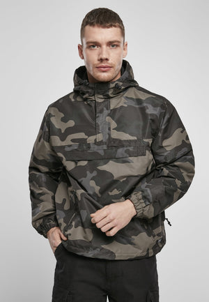 Summer Pull over Jacket Dark Camouflage / s Windbreaker Brandit