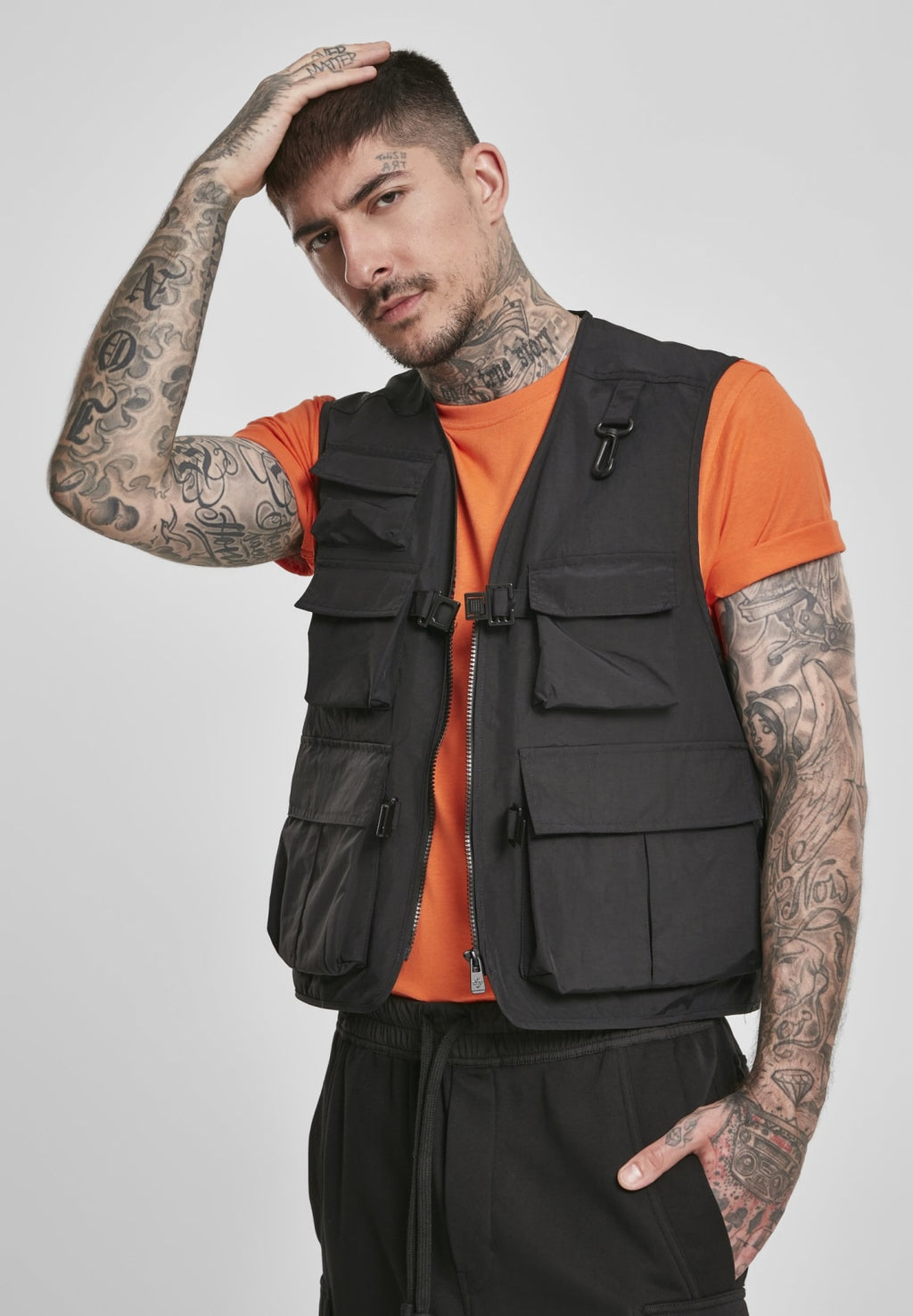 Tactical Vest Jacket Outdoor Urban Classics