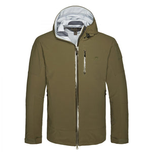 Tasmanian Tiger Dakota Water-resistant and Breathable Three-layer Men's Jacket Made of T-vent 3l Olive / s Jacket Outdoor Tasmanian Tiger