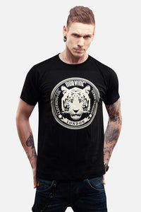 Tiger Of London S / Black T-Shirt Norvine