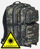 Us Cooper Lasercut Large (6 Colors) Dark Camo / L Brandit Backpack Brandit