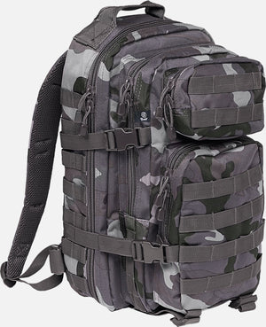 Us Cooper Medium (10 Colors) Dark Camo / M Brandit Backpack Brandit