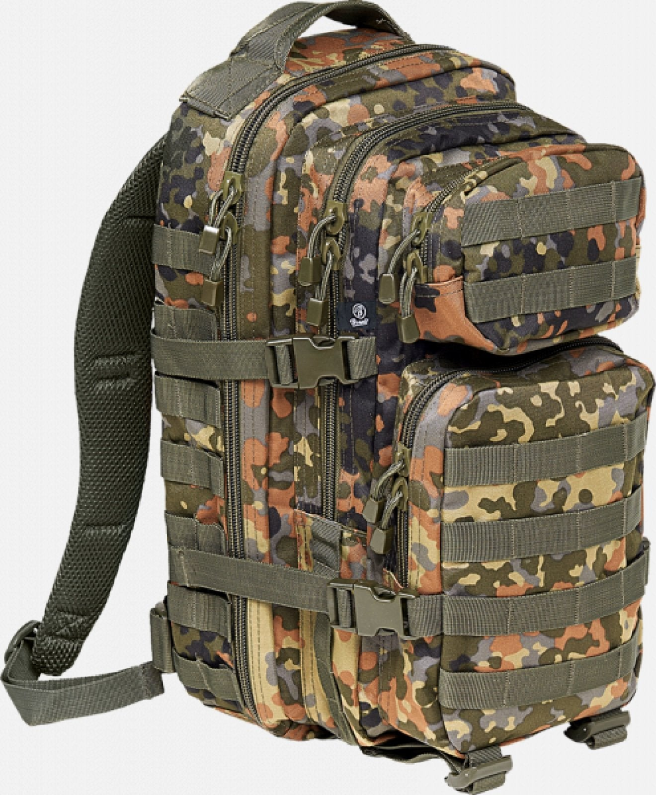 Us Cooper Medium (10 Colors) Flecktarn / M Brandit Backpack Brandit