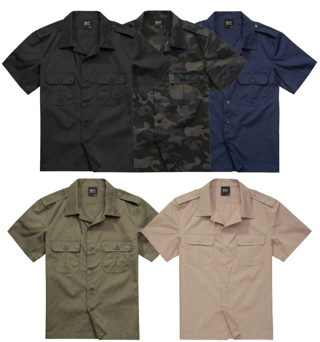 Us Shirt Ripstop Shortsleeve Shirt Brandit