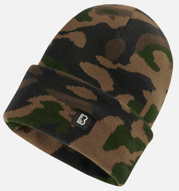 Watch Beanie Rack Woodland / One Size Headwear Brandit