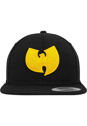 Wu-Wear Logo Cap One Size / Black Wu-Wear Wu-Tang