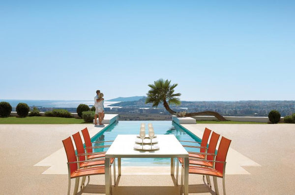 Gloster Outdoor Furniture  Fusion Collection  Luxe Home Philadelphia