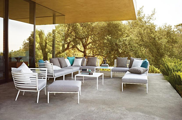Superieur Gloster Outdoor Furniture   Vista Collection Is A Stunning Line Of Outdoor  Furniture That Boasts A Sleek Design That Was Inspired By The Yachts Of The  ...