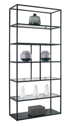 Mondrian Iron Etagere-Slim - Modern Living by Lillian August