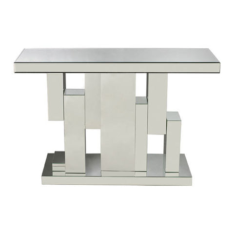 Tetrominoes Mirrored Console - Dimond Home