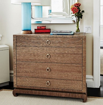 Ming Large Four Drawer Dresser, Brown - Bungalow 5