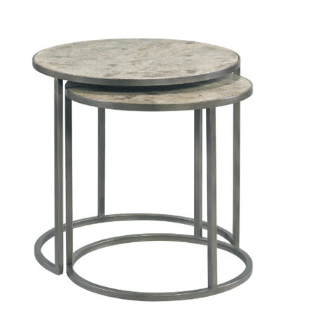 Riley Nested Side Table Amate - Modern Living by Lillian August