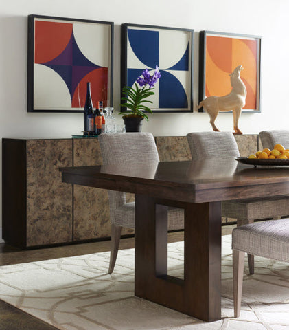 "Claridge 96"" Dining Table - Modern Living by Lillian August"