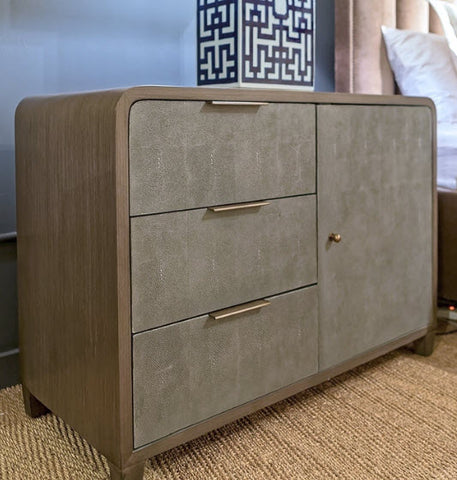 Emilia Nightstand - Left Drawers - Modern Living by Lillian August