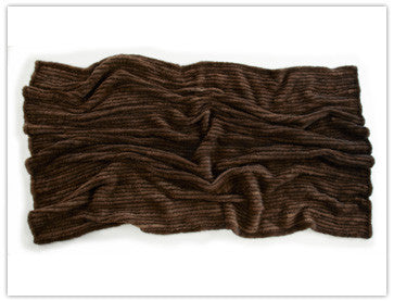 Woven Mink Throw - Adri Collection