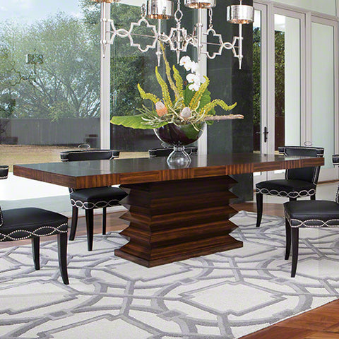 Zig Zag Dining Table - Global Views
