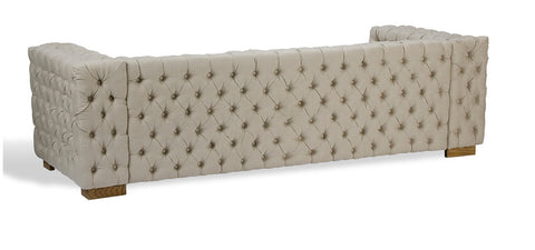 Button Tufted 6 Place Sofa - Sarreid
