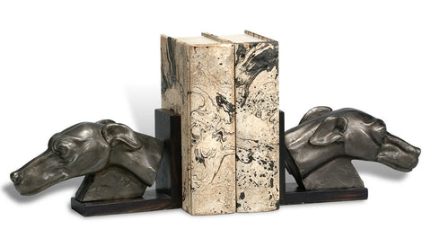 Greyhound Bookends Pair - Sarreid
