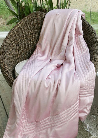 Classic Silk Throw Queen Apricot - Kumi Kookoon