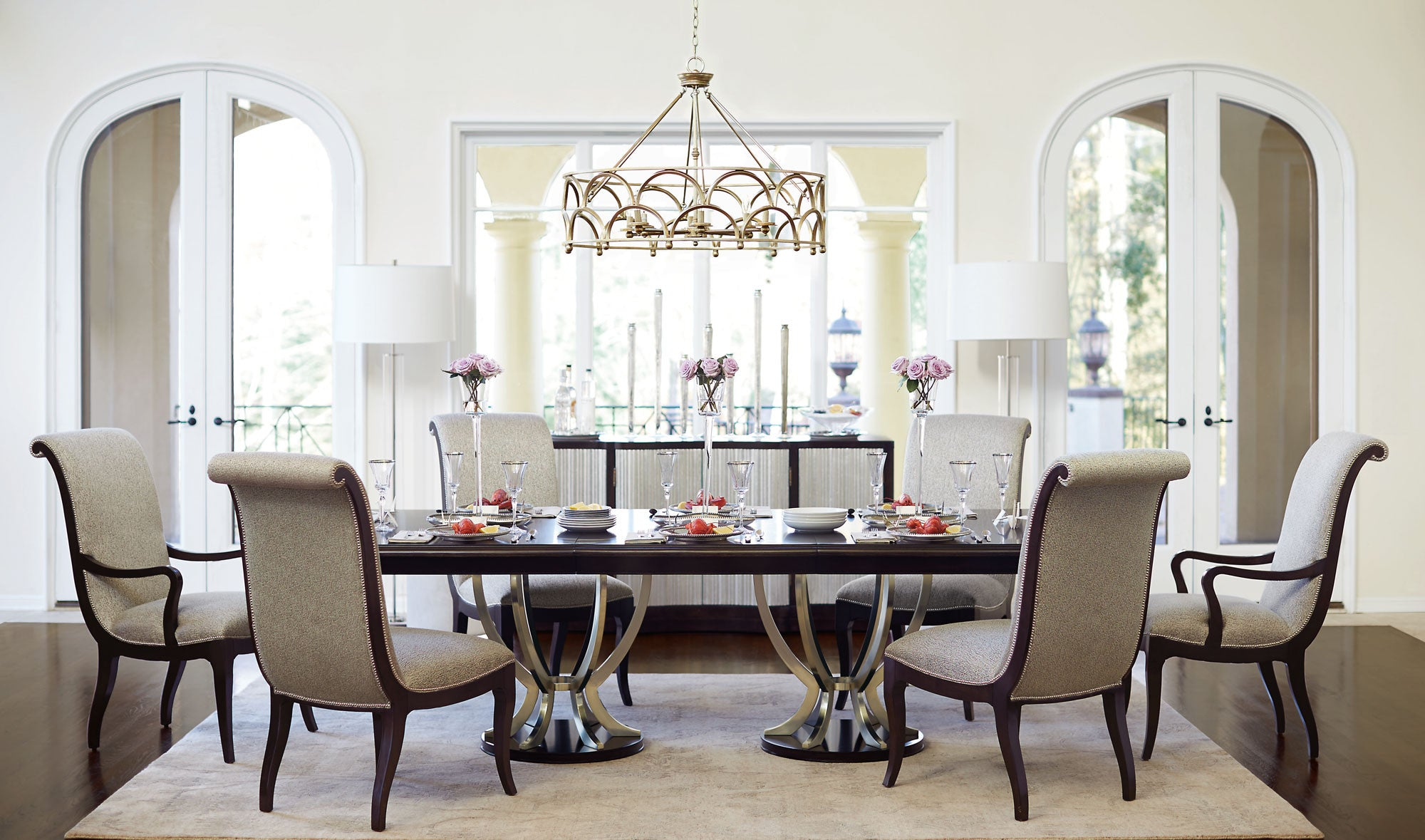 Miramont Dining Table - Bernhardt Interiors | Luxe Home Philadelphia