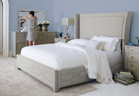Criteria Upholstered King Bed - Bernhardt Furniture