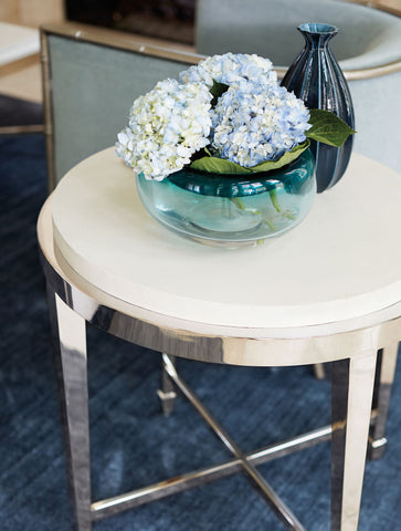Criteria Round End Table - Bernhardt Furniture