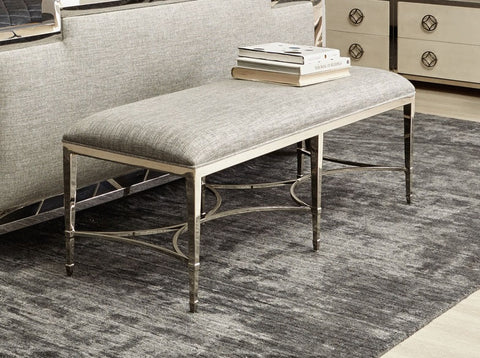 Criteria Metal Bench - Bernhardt Furniture