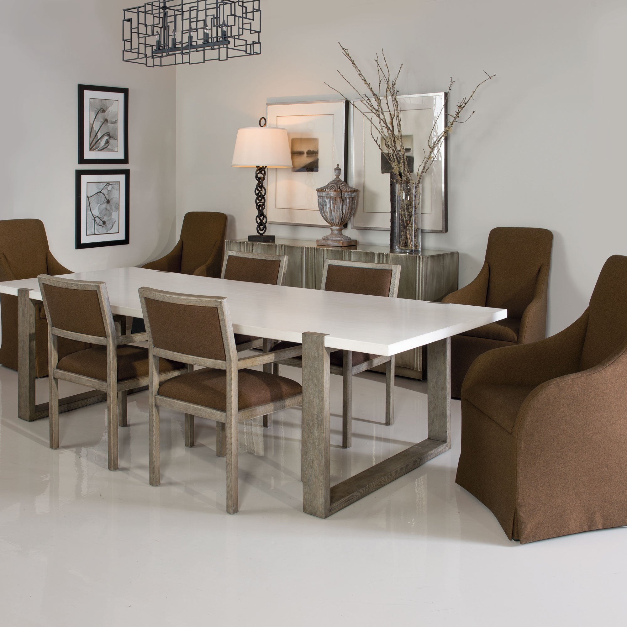 Hadleigh Dining Table - Bernhardt Interiors | Luxe Home Philadelphia