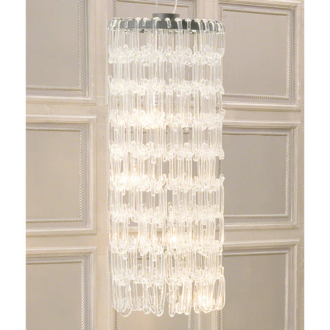 "48"" C Glass Chandelier - Global Views"