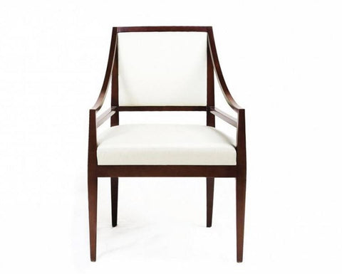 Rosenau Hannah Upholstered Back Arm Chair - Bolier & Co.