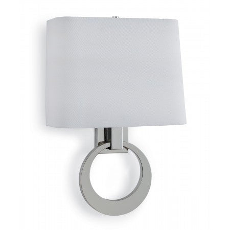 Polished Nickel Engagement Sconce - Regina-Andrew Design