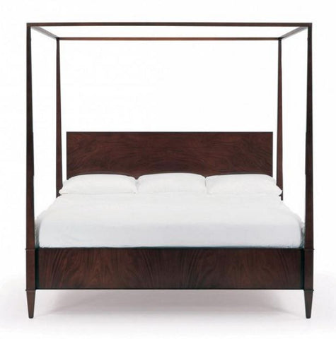Rosenau King Panel Bed With Posts Bolier Co Luxe Home