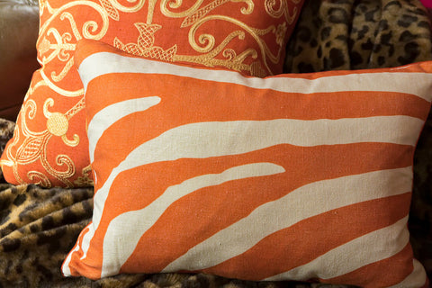 Dinisen Persimmon Pillow 14x20 - Ryan Studio