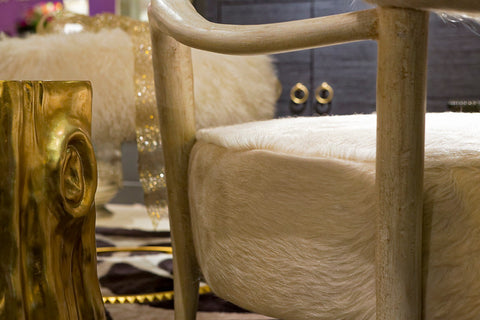 Elka Chair, Ivory - Bernhardt Furniture