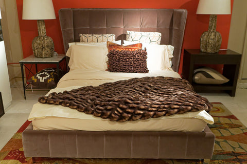 Cadam Bed, Queen - Sunpan Modern Home