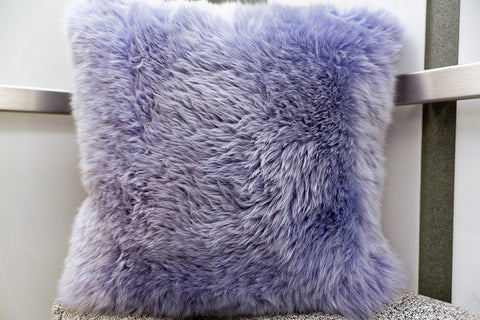 Long Wool Pillow Iris, 20