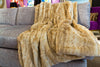 Blonde Mink Throw - Fabulous Furs