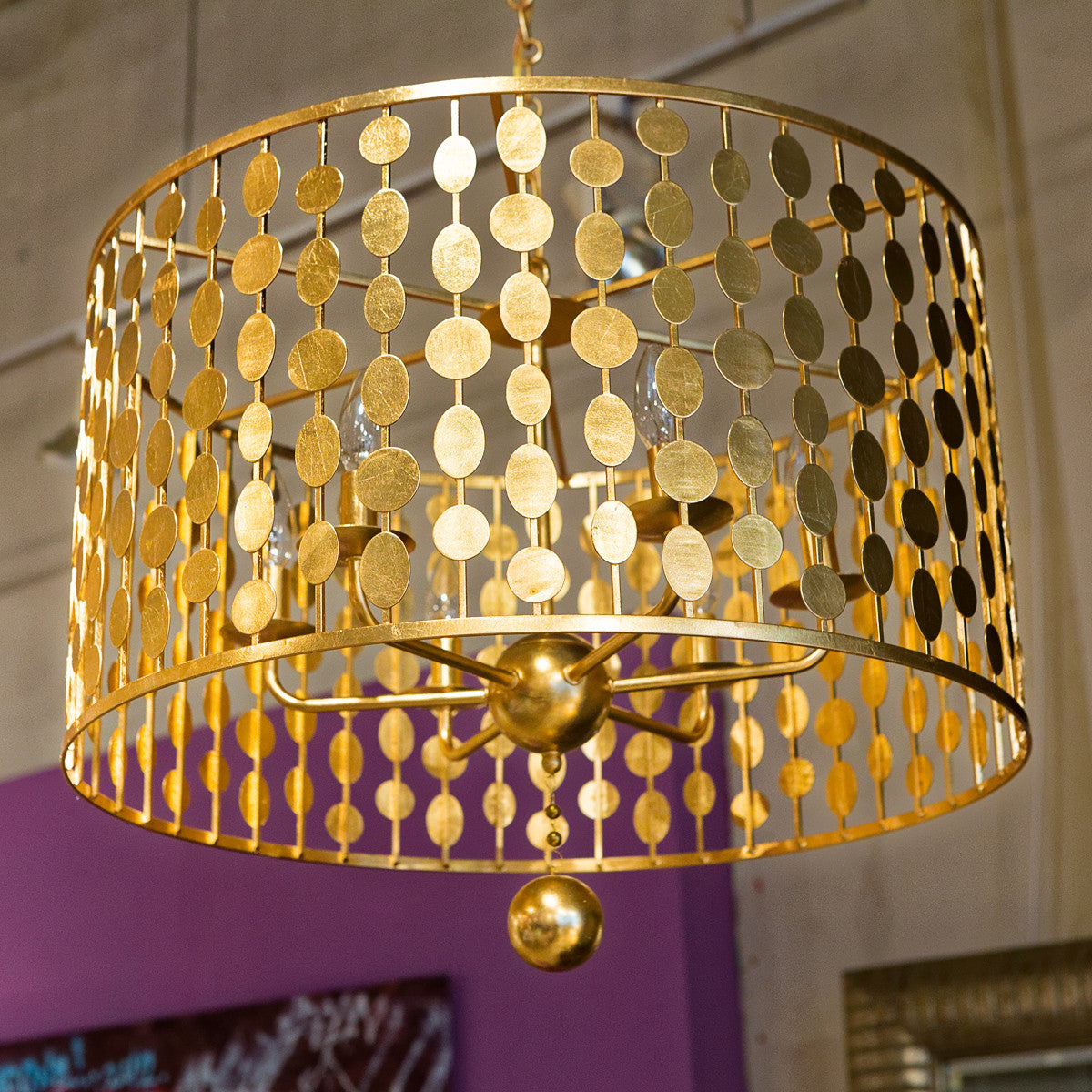layla 6 light antique gold chandelier crystorama luxe home