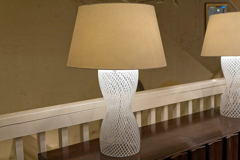 Hourglass Ribbon Lamp - Baker Furniture