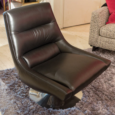 Noah Armless Swivel Chair Precedent Luxe Home Philadelphia