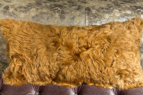 Gold Alpaca Pillow 11